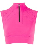 NO KA 'OI Zip-Up Performance Top