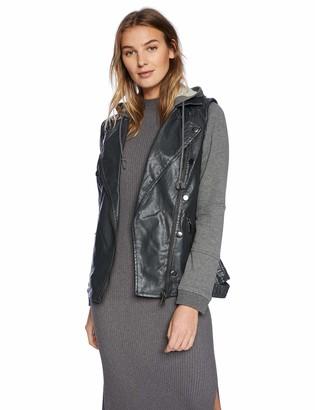 Democracy Women's Hooded Moto Jacket