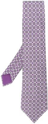 Hermes 2000's Pre-Owned Patterned Tie