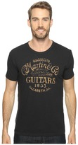 Lucky Brand Martin and Co Disc Graphic Tee Men's T Shirt