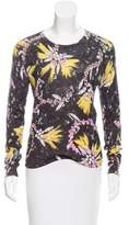 Mary Katrantzou Floral Print Silk Top