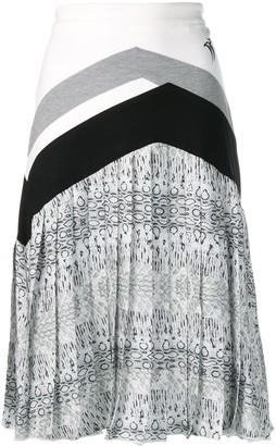 Roberto Cavalli Pleated Midi Skirt
