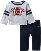 True Religion Athletic Tee & Jean 2-Piece Set (Baby Boys)