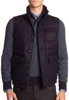 Ermenegildo Zegna Quilted Woolen Vest