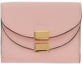 Chloé Pink Mini Georgia Wallet