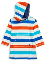 Toddler Boy's Mini Boden Towelling Cover-Up Hoodie