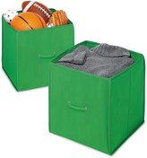 Whitmor Collapsible Storage Cubes - Set of 2, 14""