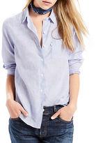 Levi'S Sidney Linen Blend Boyfriend Shirt