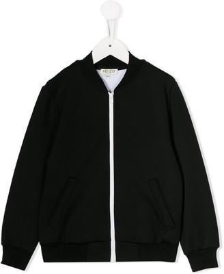Kenzo Kids Back Logo Bomber Jacket
