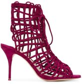 Sophia Webster 'Delphine' sandals - women - Leather/Suede - 36