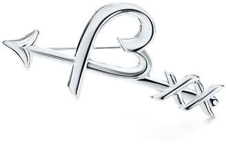 Tiffany & Co. Paloma's Graffiti heart & arrow brooch in sterling silver
