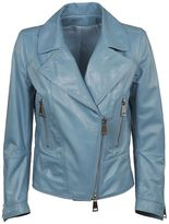 Sylvie Schimmel Zip Up Leather Jacket