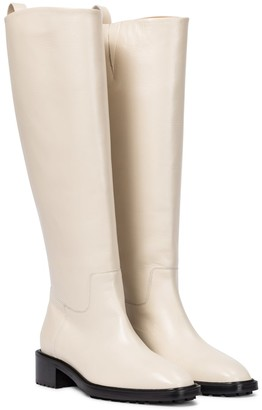 AEYDĒ Tammy leather riding boots