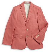 Lauren Ralph Lauren Two-Button Linen Suit Jacket
