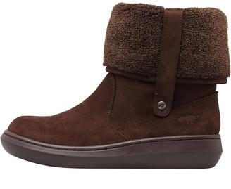 Rocket Dog Womens Sugar Mint Suede Boots Tribal Brown