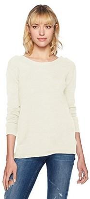 BB Dakota Women's Granada Lace up Back Sweater