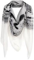 Alexander McQueen Square scarf