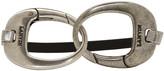 Lanvin Black and Silver Hooks Bracelet