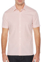 Perry Ellis Mini Paisley Print Shirt