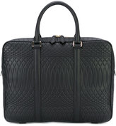 Paul Smith embossed laptop bag - men - Leather - One Size