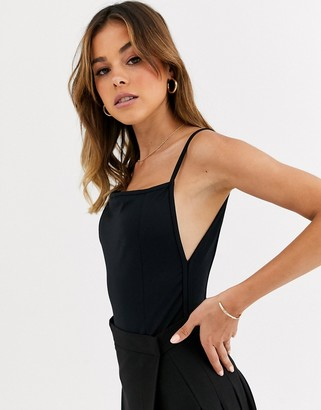 Free People Lila strappy bodysuit