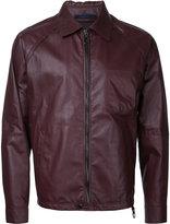 Lanvin biker jacket - men - Lamb Skin - 48