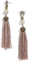 BaubleBar Pirkko Tassel Drop Earrings