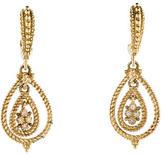 Judith Ripka Diamond Drop Earrings
