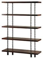 Stylecraft Bookcase Brown 5 Shelf