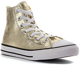 Converse Girls' Chuck Taylor All Star Metallic Canvas Hi PS/GS