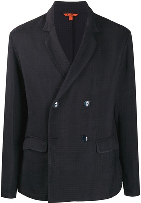 Barena Textured Double Breasted Jacket