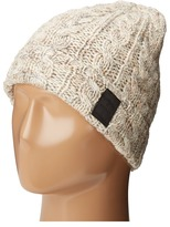 Scotch & Soda Beanie in Wool Quality with Cable Knit Pattern