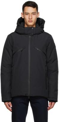 Nobis Reversible Black Down Oliver Puffer Jacket