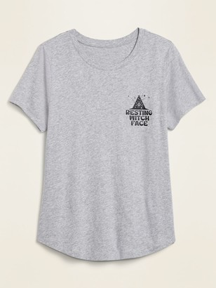 Old Navy EveryWear Crew-Neck Graphic Tee for Women