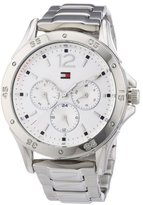 Tommy Hilfiger Multi-Function White Dial Stainless Steel Ladies Watch 1781304