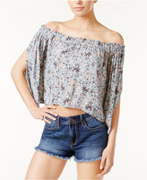 Astr Anabelle Off-The-Shoulder Crop Top