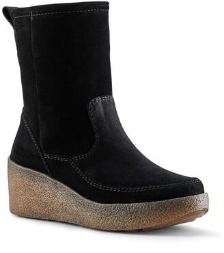 Cougar Devlin Waterproof Suede Wedge Boot