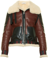 Altuzarra Antioch leather and shearling jacket