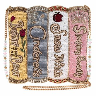 Mary Frances Disney Princess Storybooks Beaded Crossbody Handbag