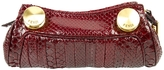 Fendi Red Exotic leathers Clutch bag