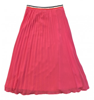 Tommy Jeans Pink Synthetic Skirts