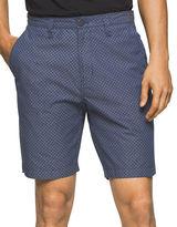 Calvin Klein Jeans Printed Five-Pocket Shorts