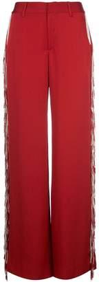 Monse Fringed Wide Leg Trousers