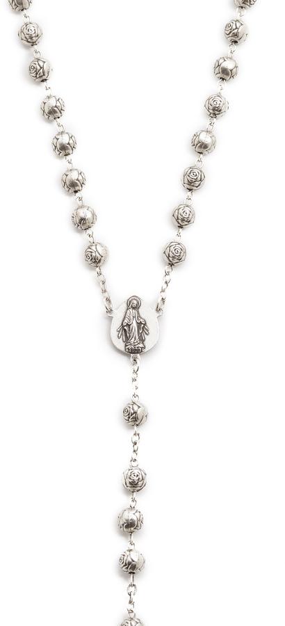 Pamela Love Dagger Rosary Necklace