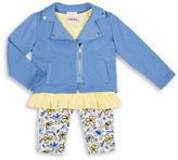 Little Lass Girls 2-6x Printed Jersey Set