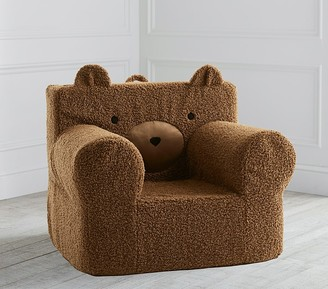 Pottery Barn Kids Oversized Teddy Bear Fur Anywhere Chair