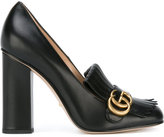 Gucci fringed pumps - women - Leather - 37