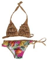 Submarine Pineapple Printed Bikini