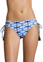 Michael Kors Printed Side-Tie Bikini Bottom