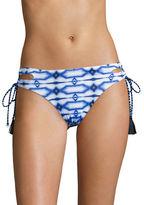 MICHAEL Michael Kors Printed Side-Tie Bikini Bottom